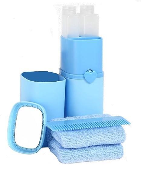 Vaso para cepillos de dientes de viaje multiusos al aire libre juego de taza de lavado