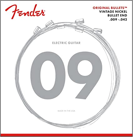 3-Pack! NEW Fender Original Bullets 3150L Pure Nickel 9-42 Electric Strings