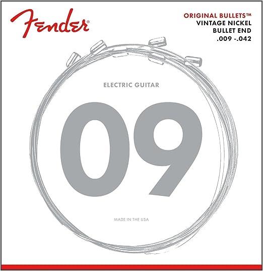 Fender 073-3150-403 Conjunto original de cuerdas Bullets - 3150L ...