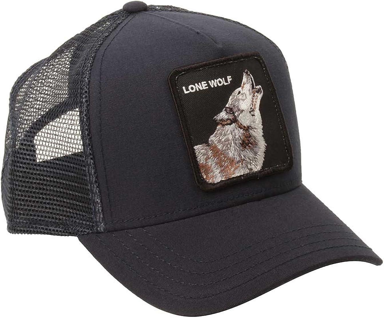 Goorin Bros Trucker - Gorra, diseño de lobo, color azul marino ...