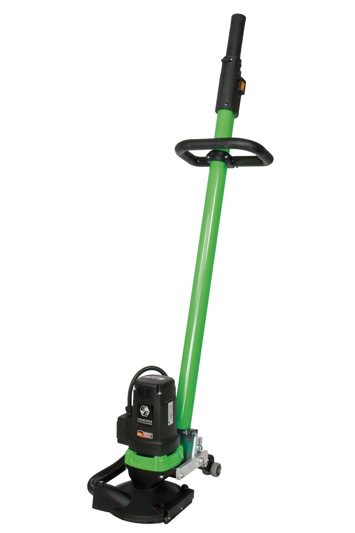 CS Unitec EBS 180 F 7'' Concrete Floor Grinder with Dust Extraction and Angle Adjustable Floor Guide, 20 Amp, 110V