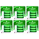 SmartLife Lip Balm, Spearmint, 3 Count (Pack of 6)