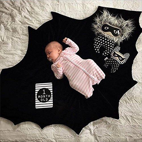 Himom Batman Bebe Cobija Almohadilla Manta del juego del bebe Estera Amortiguar Accesorios de fotografia Para el bebe o los ninos.