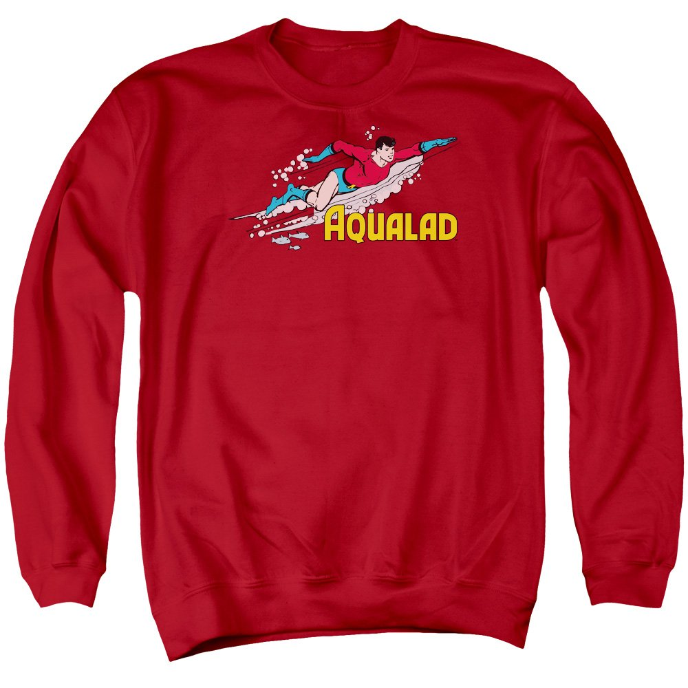 DC Comics Mens Aqualad Sweater