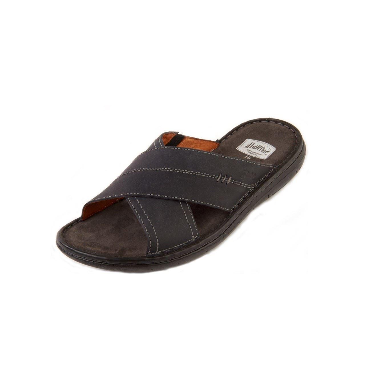 Softwalk - Sandalias de vestir de Otra Piel para hombre 45 EU|azul marino