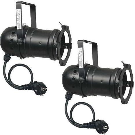 VARYTEC 10° SPOT 4 x PAR-30 230Volt 75 Watt PAR 30 E27 Fassung Leuchtmittel