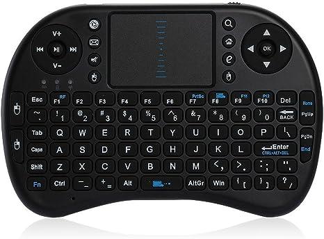 Teclado Mini Inalámbrico TOUCHPAD 2.4G para Android TV Box PS3 XBOX Ordenador: Amazon.es: Informática
