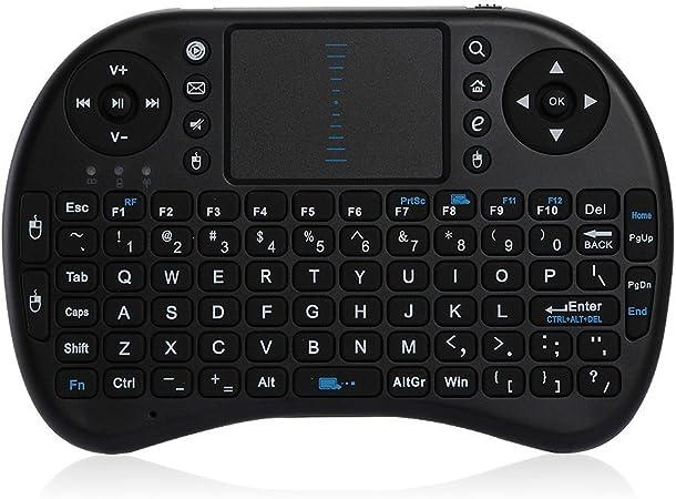 Teclado Mini Inalámbrico TOUCHPAD 2.4G para Android TV Box PS3 XBOX Ordenador