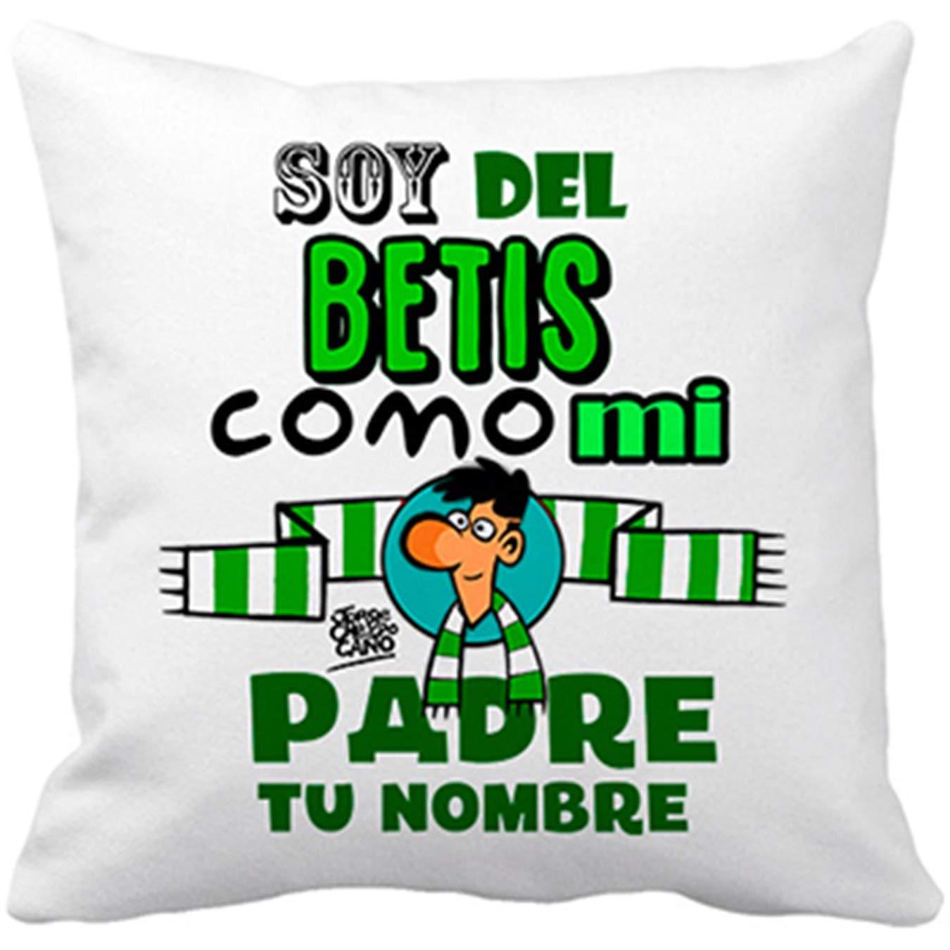 Diver Bebé Cojín con Relleno Soy del Betis como mi Padre ...