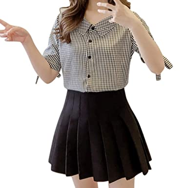 MOTOCO Mujer Camiseta de Manga Corta/Camiseta Camiseta de Verano ...