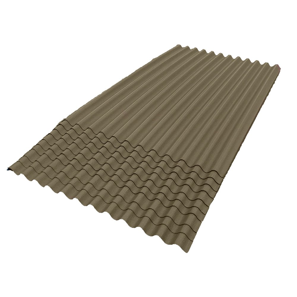 ONDURA 109 Corrugated Asphalt Roofing (10-Pack), Tan