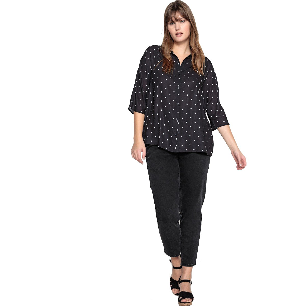 Length 27.5 La Redoute Castaluna Womens High Waist Mom Jeans