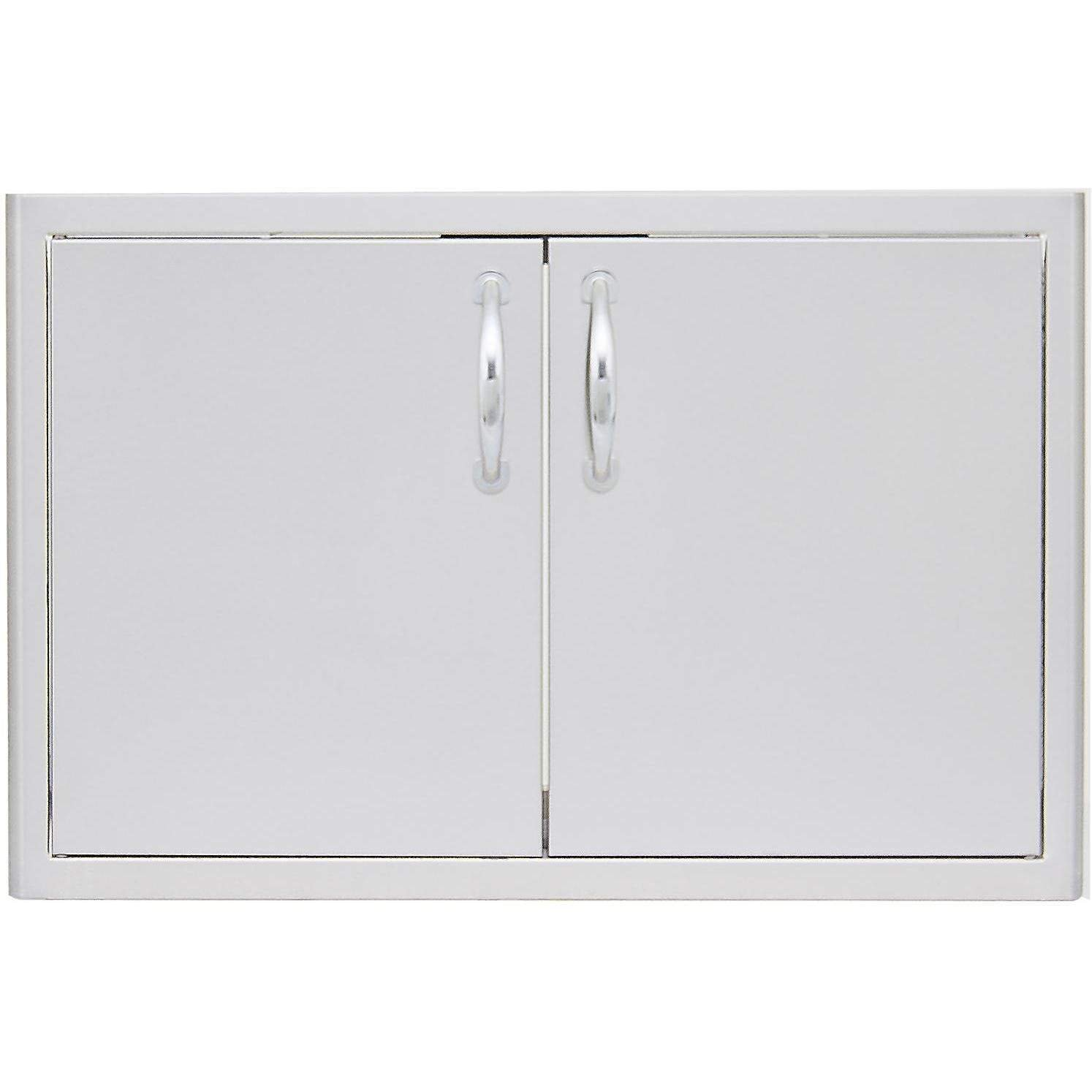 Double Access Door with Paper Towel Dispenser Size: 32'' W