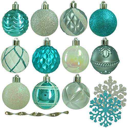 (Martha Stewart Living Winter Wishes Shatter-Resistant Assorted Ornament (101-Count) (1))