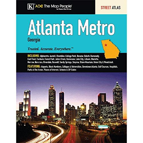 Atlanta, GA Metro Street Atlas Kappa Map