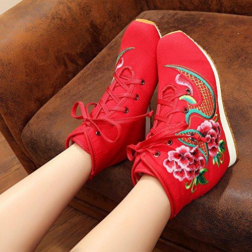xichengshidai , Mocassins pour femme multicolore multicolore