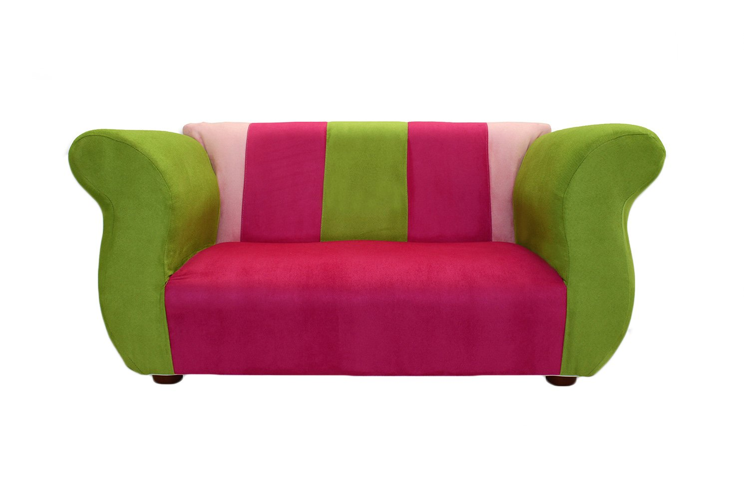 KEET Fancy Kid's Sofa, Pink/Green