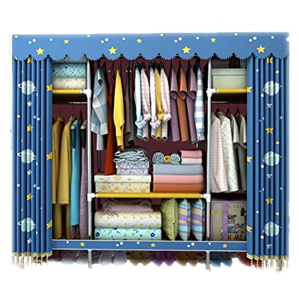 Amazon Com Nz Wardrobe Clothes Storage Organizer For Home Bedroom