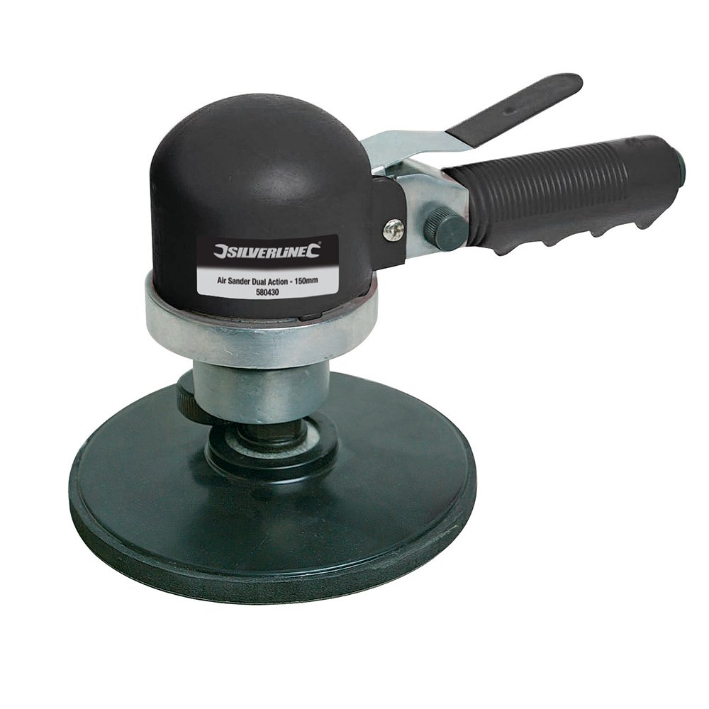 Silverline 580430 Air Sander and Polisher, 150 mm SLTL4