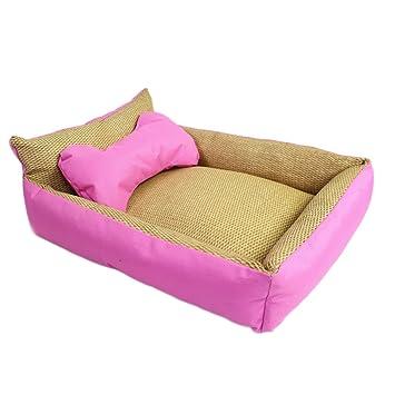 Panier corbeille pas cher pour chien lit animaux coussin amoviable