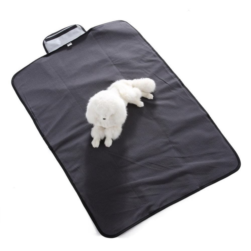 C WUTOLUO Pet Bolster Dog Bed Comfort Waterproof Oxford Cloth dog mat (color   A)