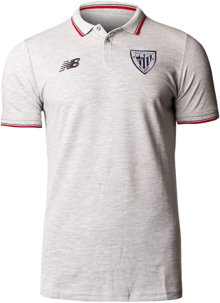 New Balance AC Bilbao Base 2019-2020, Polo, nulo, Talla S: Amazon ...