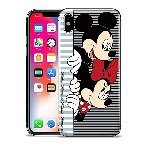 Amazon Com Gspstore Iphone Xr Case Mickey And Minnie Mouse Disney