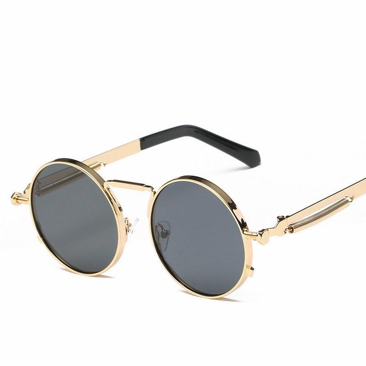 Runde Sonnenbrille Bunte RetroSonnenbrille Frühjahr Spiegel Beine ...