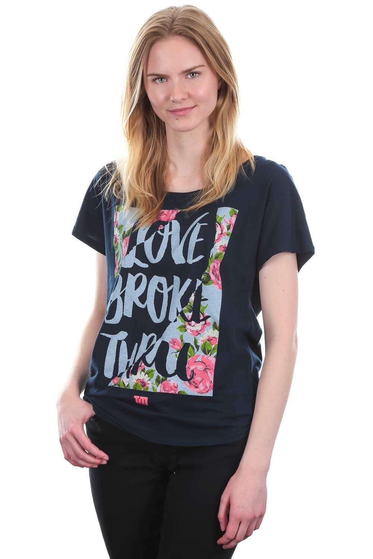 Future Shirts Tobymac Love Broke Thru Short Sleeve Dolman Tee Navy