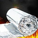 Tubo de lana de roca con aluminio, aislante para tubos de ...