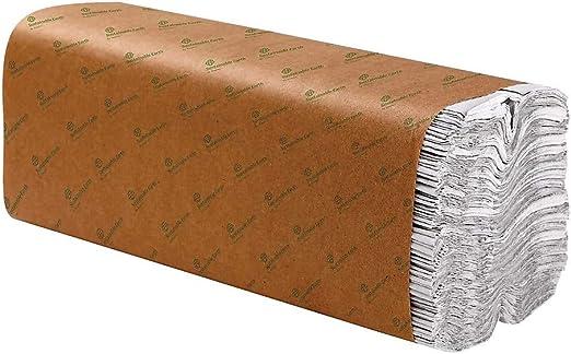 C-Fold toallas de papel a mano Blue /& Green