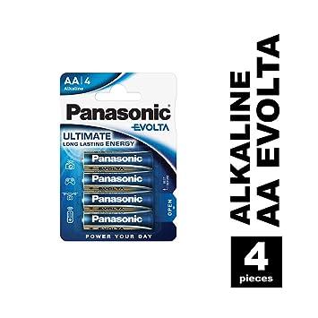 Panasonic Blister 4 Pilas Alcalinas AA LR6 EVOLTA