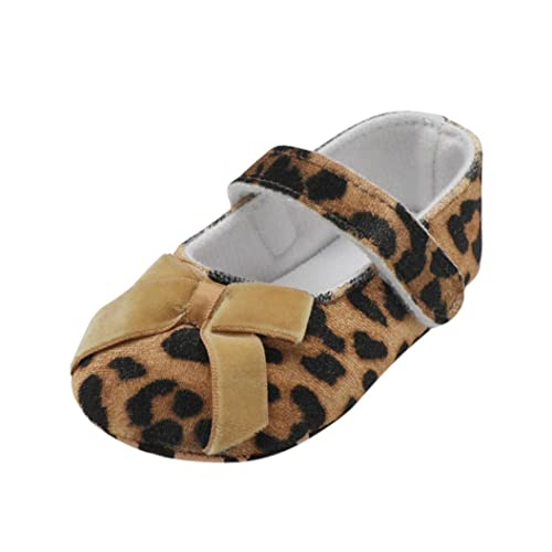 Voberry Baby Infant Girls Bowknot Mary Jane Shoes Princess Flat Sandals First Walker Shoes (0