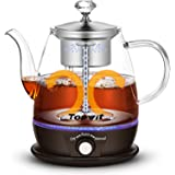 Topwit Electric Kettle, Electric Tea Kettle with New Tea-brewing Method, Keep Warm and Dual Boiling Modes Electric Tea Maker,
