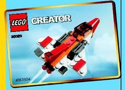 LEGO Creator: Jet Establecer 30020 (Bolsas): Amazon.es ...