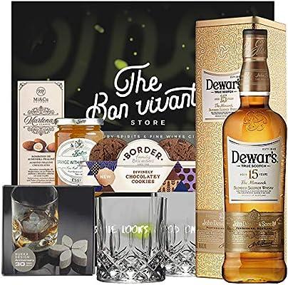 Dewars 15 Años 1l Pack Regalo: Amazon.es: Alimentación y bebidas