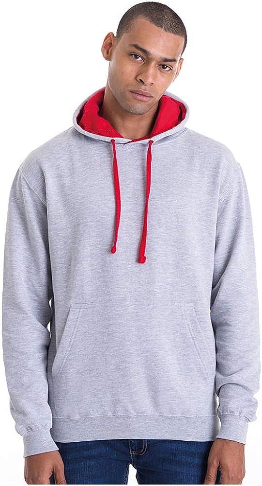 Awdis Mens Just Hoods Varsity Contrast Hoodie
