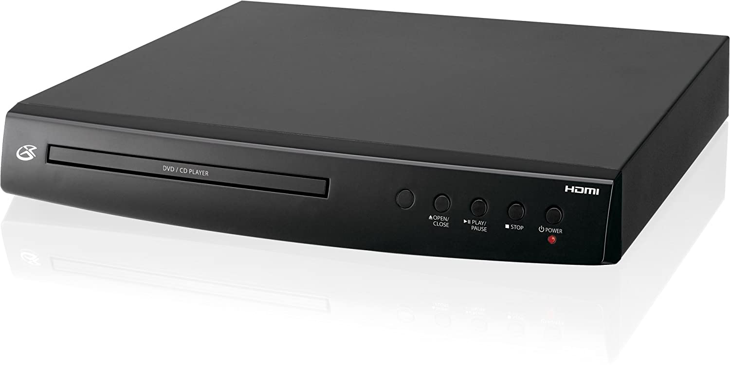 Amazon.com: GPX DH300B 1080p Upconversion DVD Player with HDMI: GPX:  Electronics