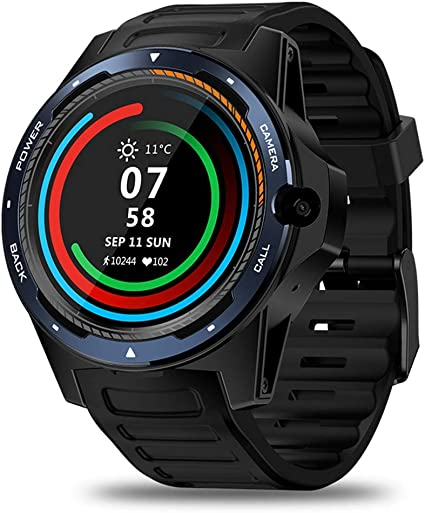 Amazon.com: Zeblaze Thor 5 Android 4G Smart Watch, Dual ...