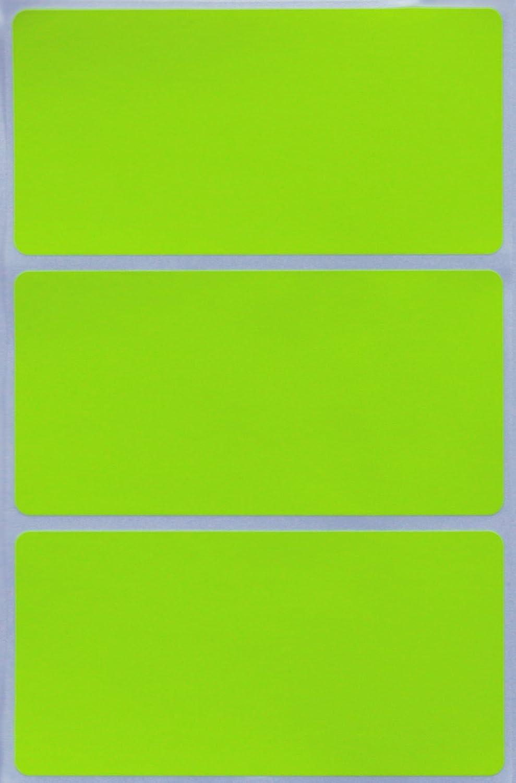 Confezione da 45 Pezzi Royal Green Etichette Adesive Rettangolari Bianche da 102 mm x 51 mm