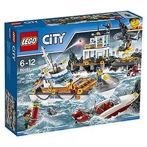 LEGO City Coast Guard - Guardacostas: Cuartel general (60167)