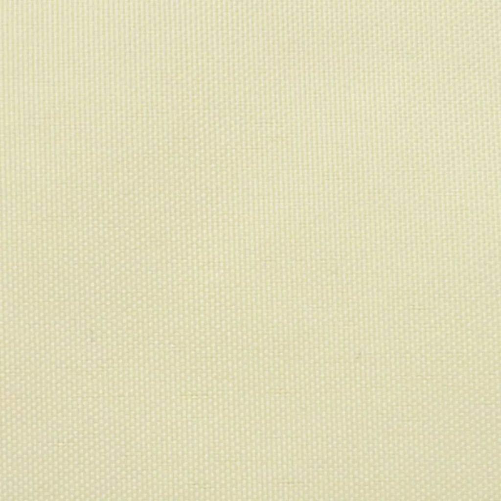 vidaXL Paravento Balcone Impermeabile Tessuto Oxford 75x400 cm Beige Parasole