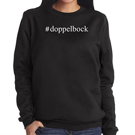 #Doble Bock sudadera con capucha para mujer-camiseta de manga corta para hombre negro