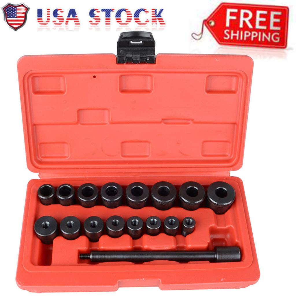 Automotive Tool Kit, Vithconl 17pc Clutch Alignment Tool Kit Aligning for All Cars (Ship from US)