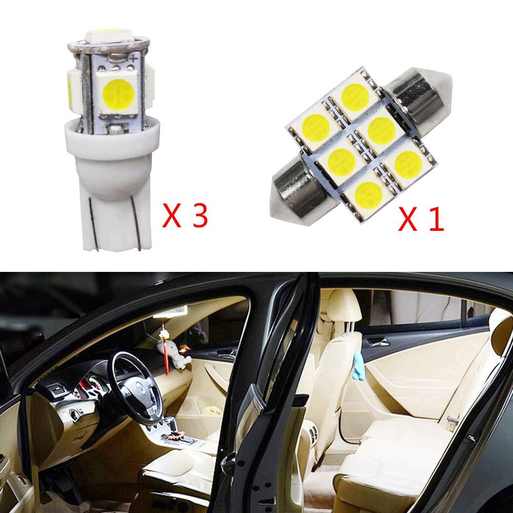 Cobear para Jimny Super Brillante Fuente de luz LED Interior L/ámpara de Coche Bombillas de Repuesto Blanco Paquete de 1