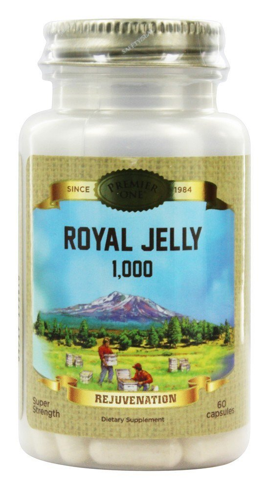 Premier One Royal Jelly 1000 Mg Multivitamins, 60 Count by Premier One