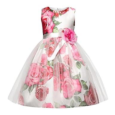 ❥Elecenty Prinzessin Baby Kleid,Mädchen Kleider Kleinkind Strampler Bowknot  Spielanzug+Plaid Tutu Rock a5ddd72a6d