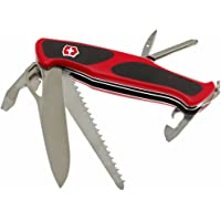 Victorinox 0.9663.MC Wenger Rangergrip 78 Couteau suisse Rouge/noir
