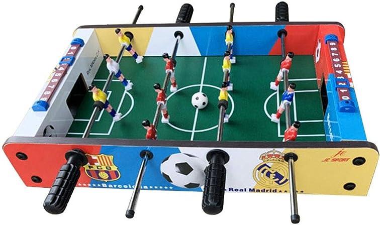 Finelyty Juego De Fútbol De Mesa, Mini Jugadores De Futbolín para ...