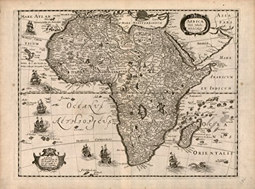 Map: 1640 Africae nova - Discount Africa Of Out Coupons